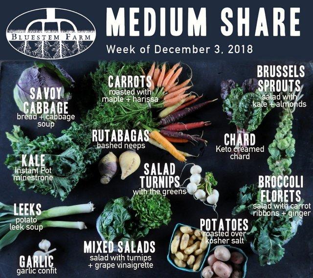 Medium Share - Early December 2018