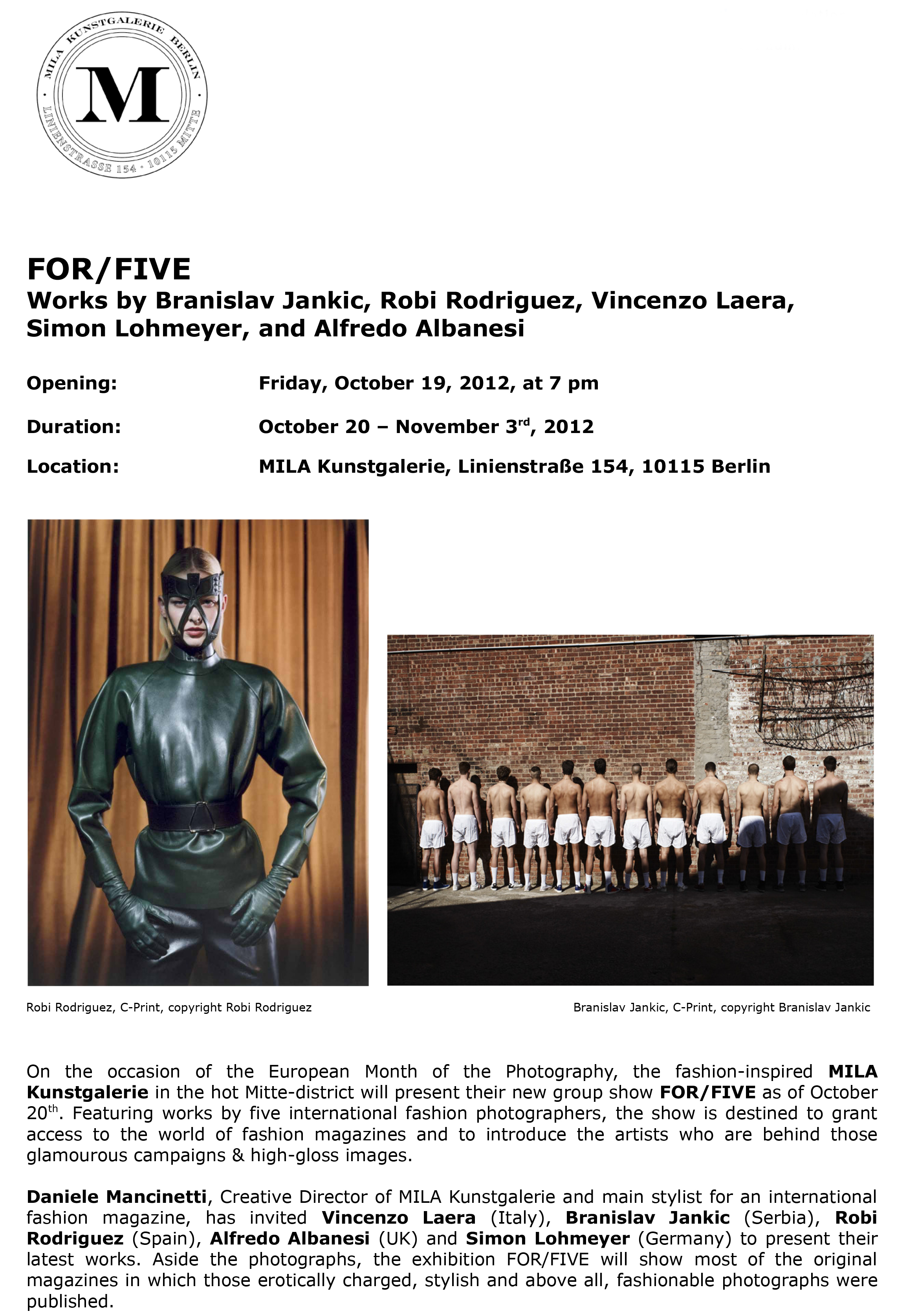 Press release_for five_MILA Kunstgalerie_nadine dinter - public