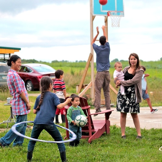 Weekly Potlucks - Every Friday night for four years, Grin City invited the local community to an evening meal at the Lacina Farmstead. Visitors broke bread and enjoyed a community-focused celebration with visiting artists.
