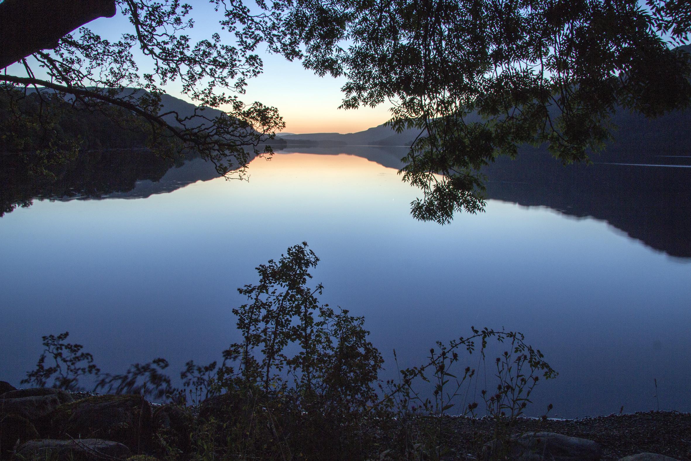 First light on Ullswater