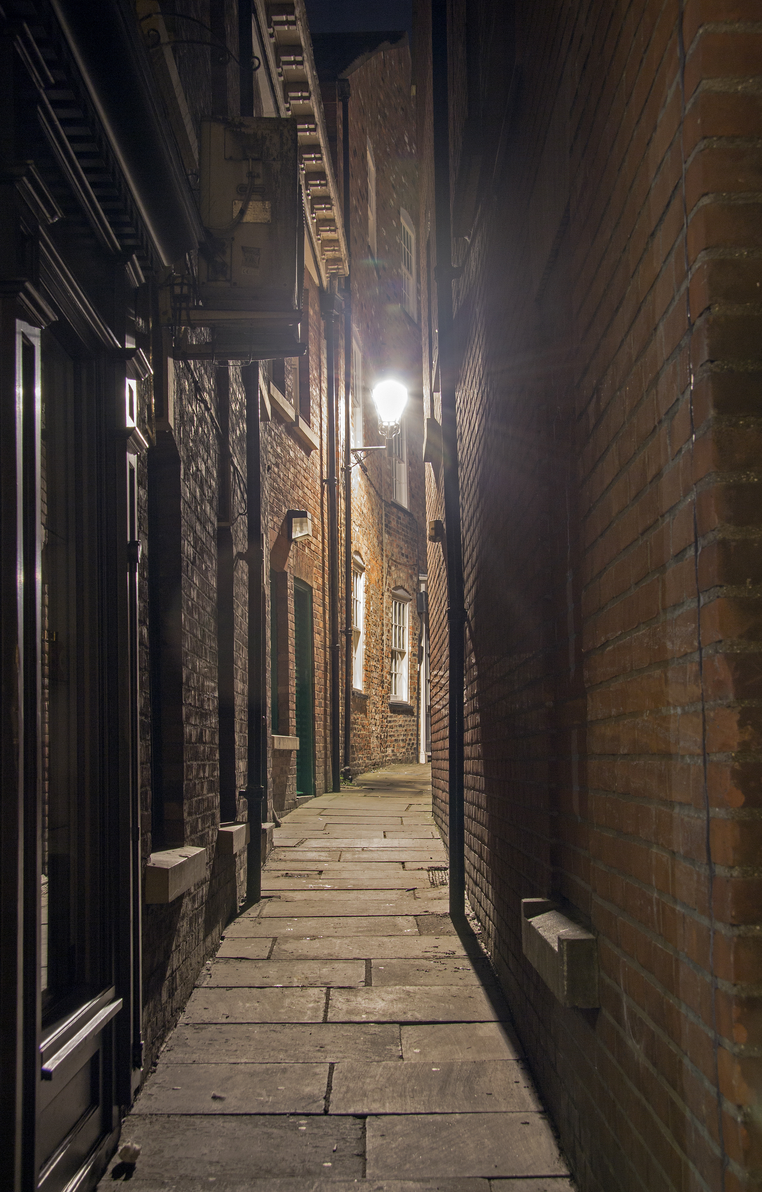 A York snicketway (ginnel to other Boltonians)