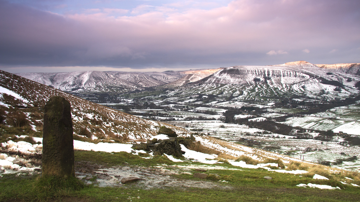 Mam Tor - view of Edale Valley