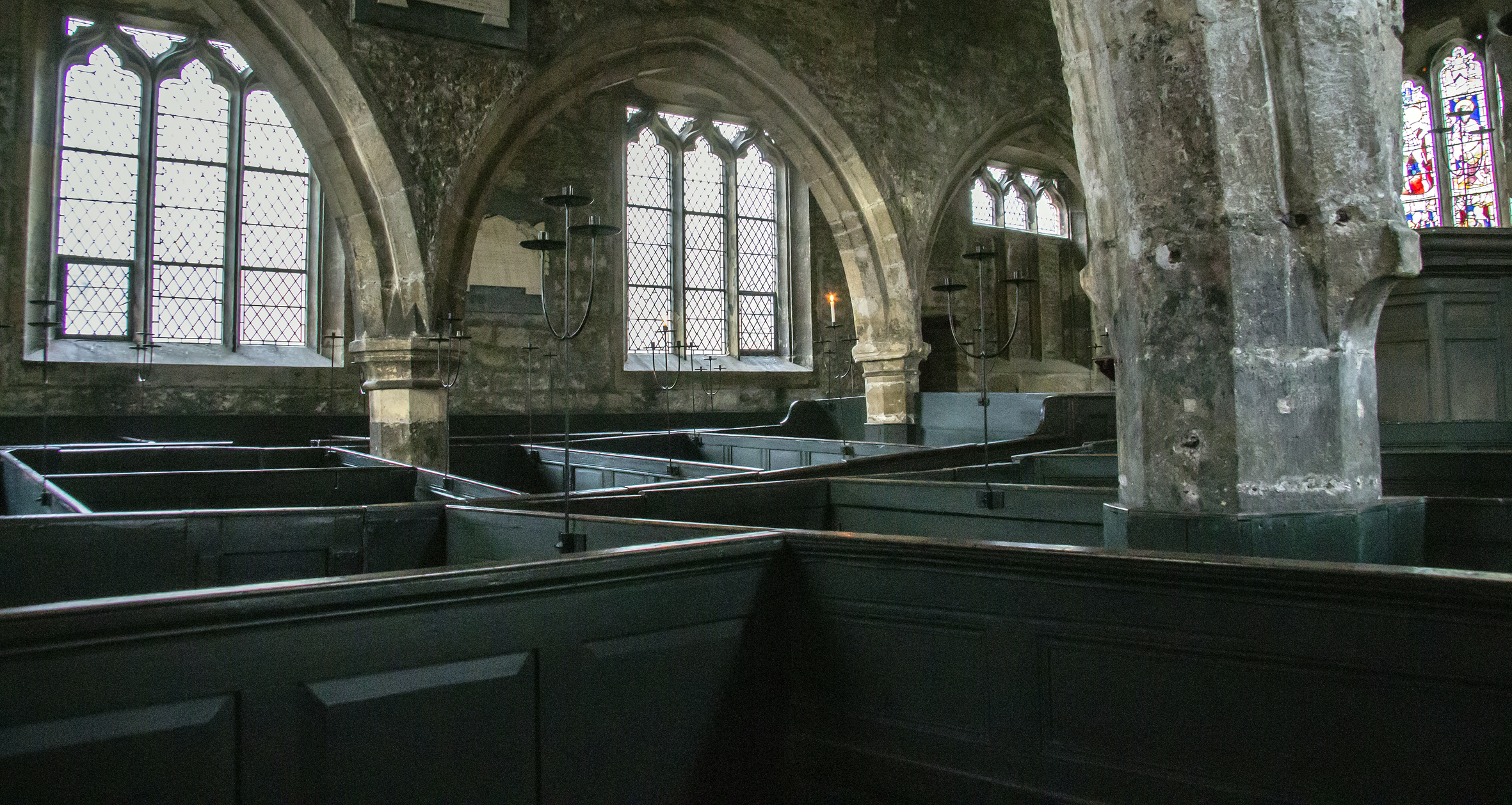 Holy Trinity Church, box pews