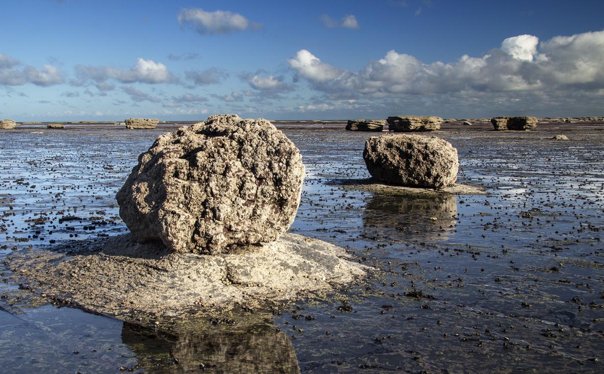 Saltwick Bay rocks