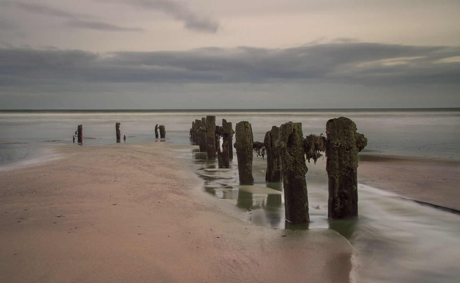 Sandsend Beach Groynes