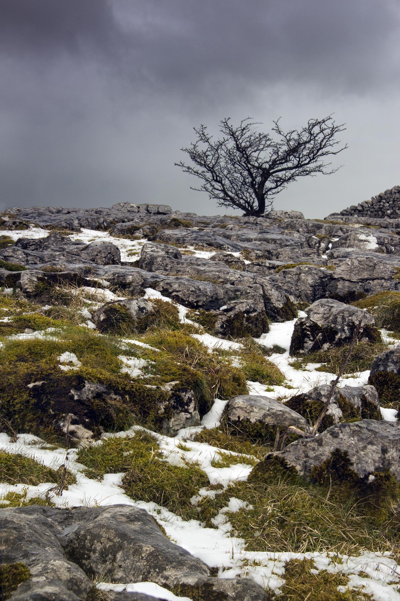 Snow at Winskill Stones