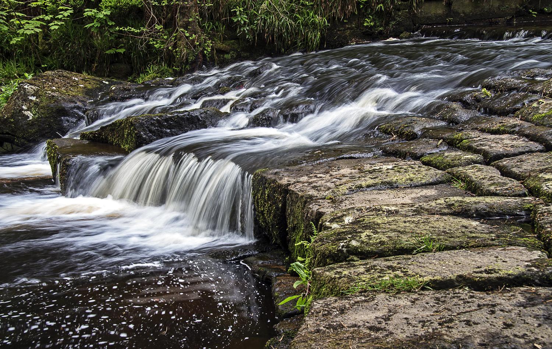 "waterfall on ""Mill Walk"""