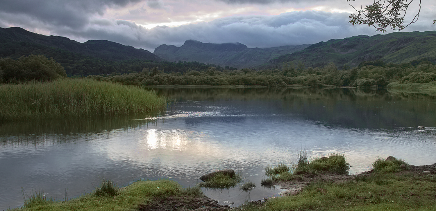 Elterwater and Langdale Pikes