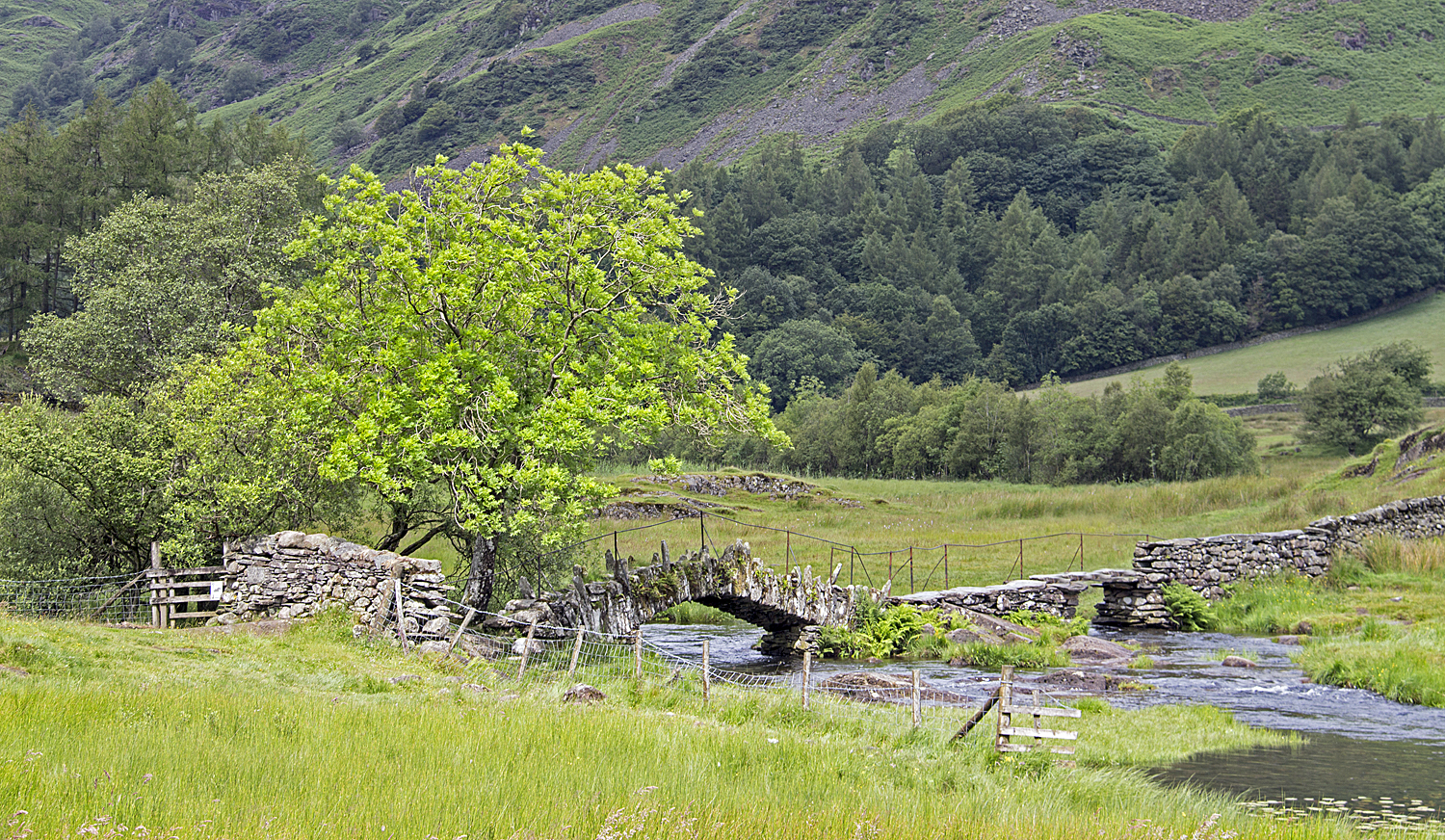 Slater's Bridge in Little Langdale