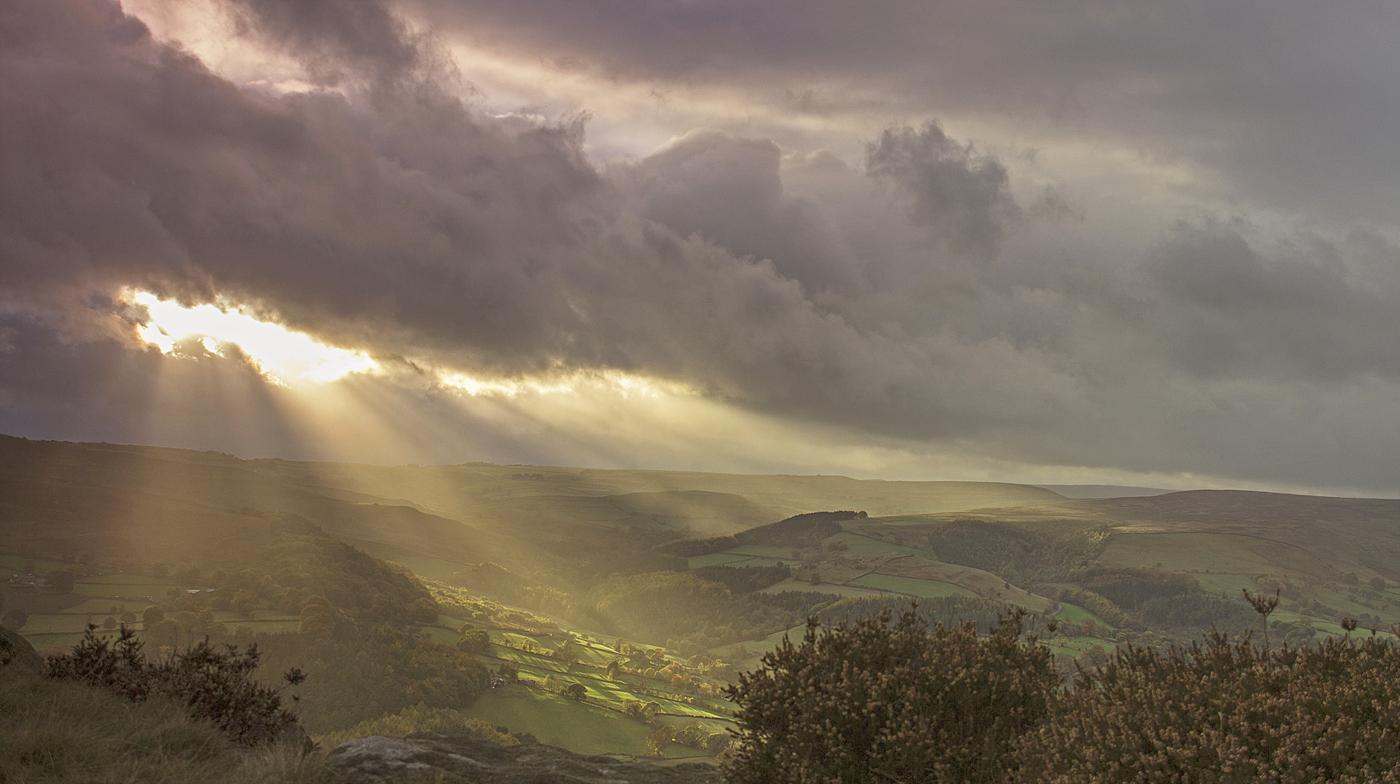 Sun and cloud - Millstone Edge