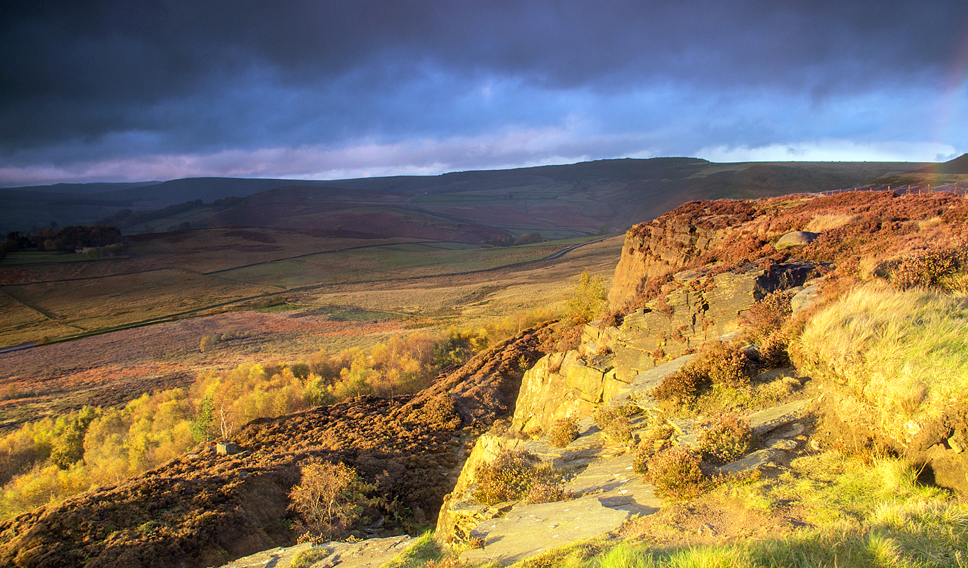 View to Higger Tor from Millstone Edge