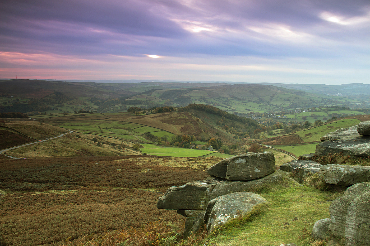 The Hope Valley - Higger Tor