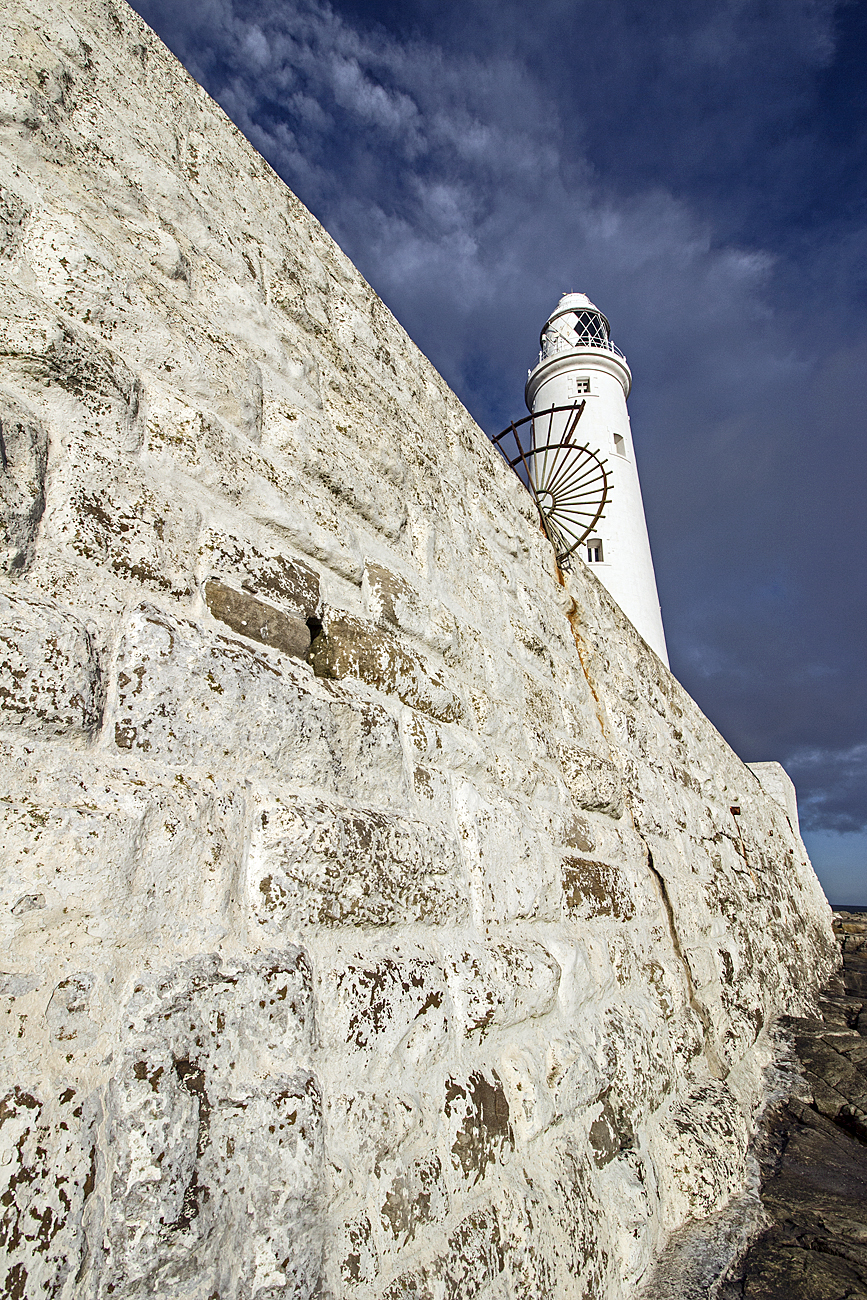 St Mary's' Lighthouse Wall