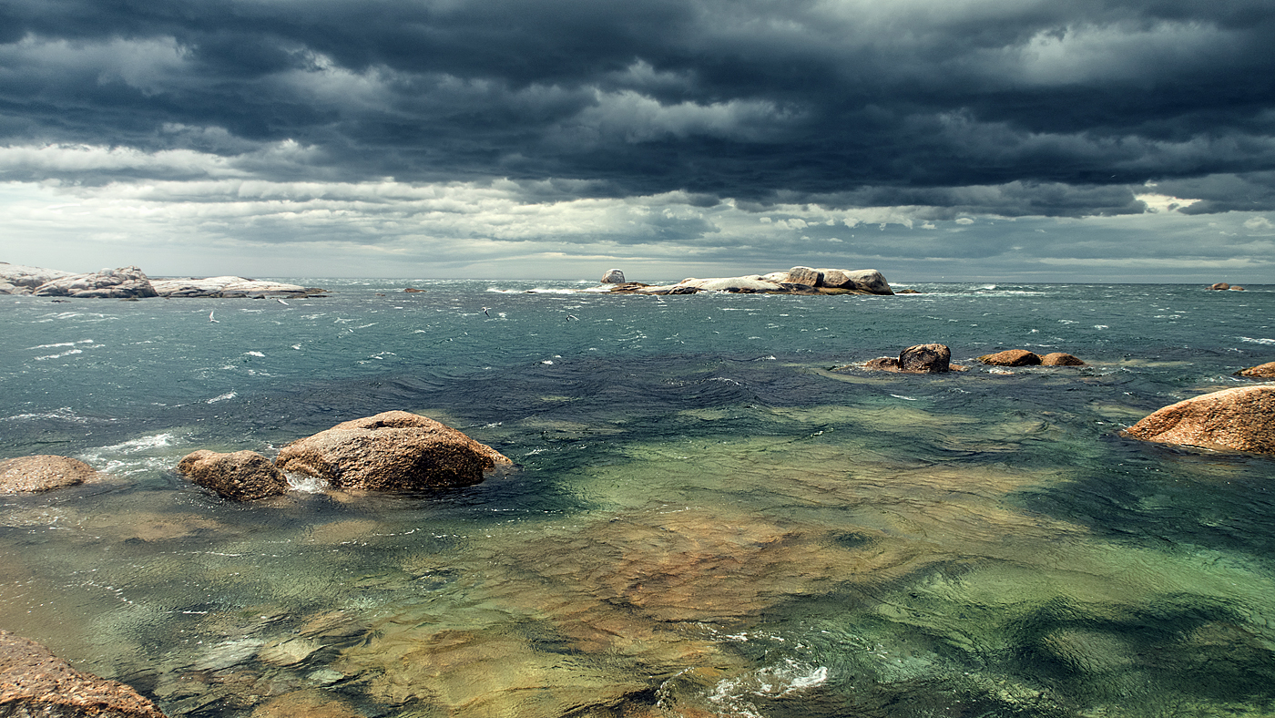 Stormy Bicheno - Tasmania