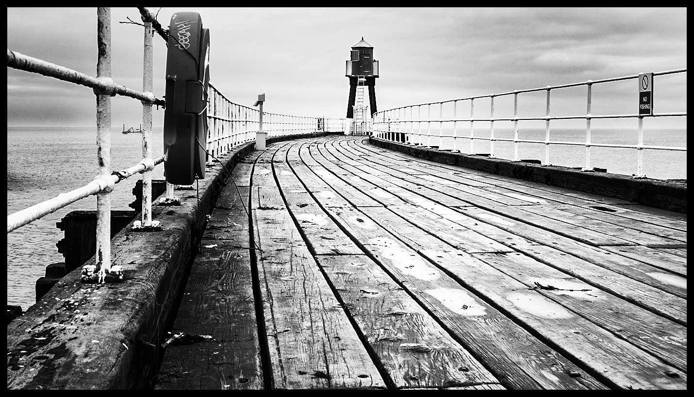 Worms Eye view West Pier