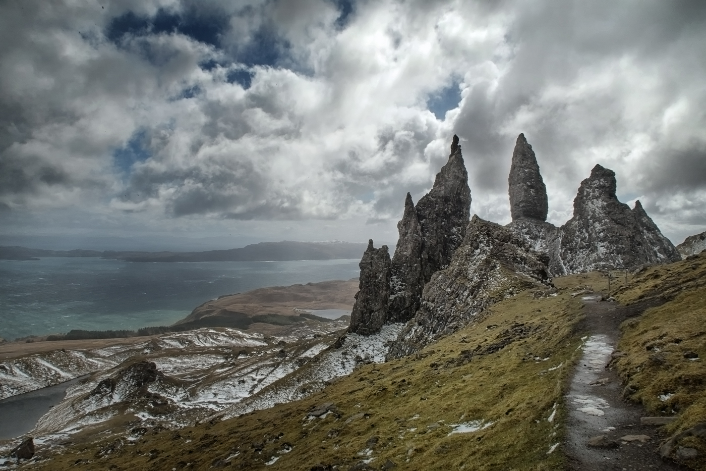 Old Man of Storr from the north