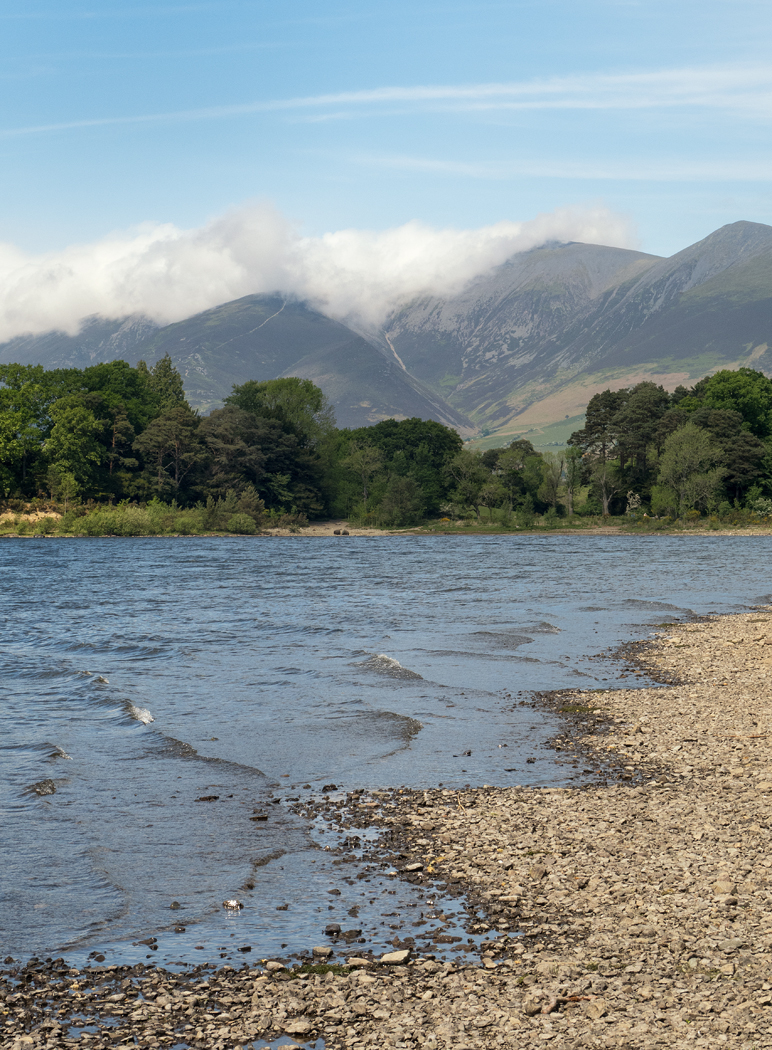 Low Cloud over Skiddaw