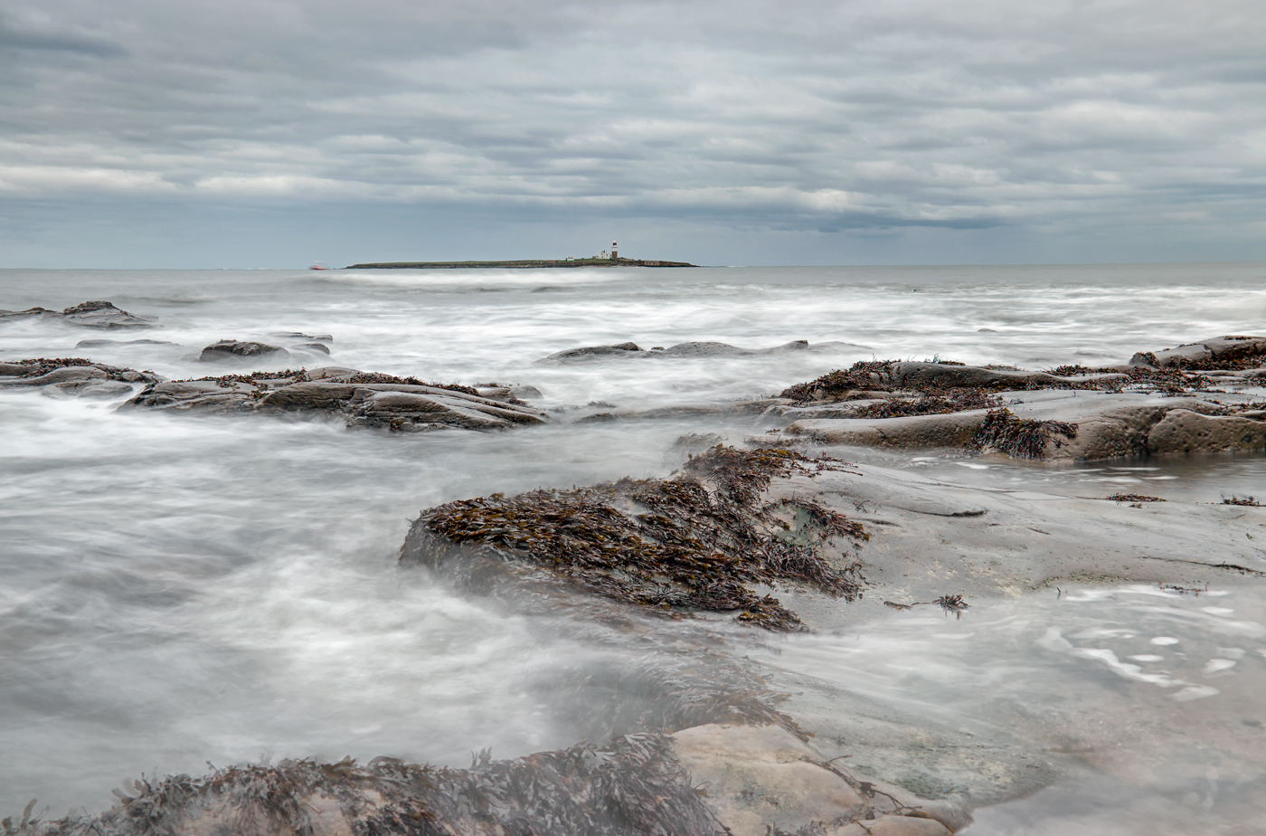 Coquet Island from Low Hauxley