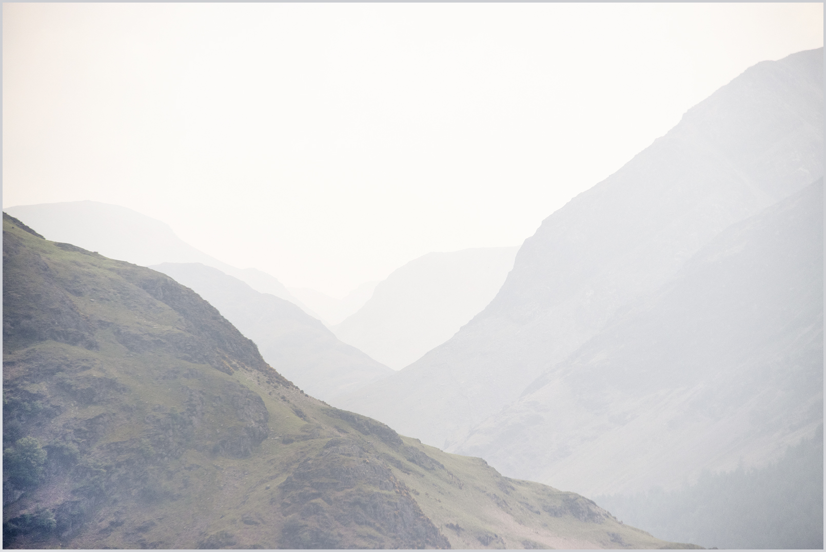 Ullswater mountains