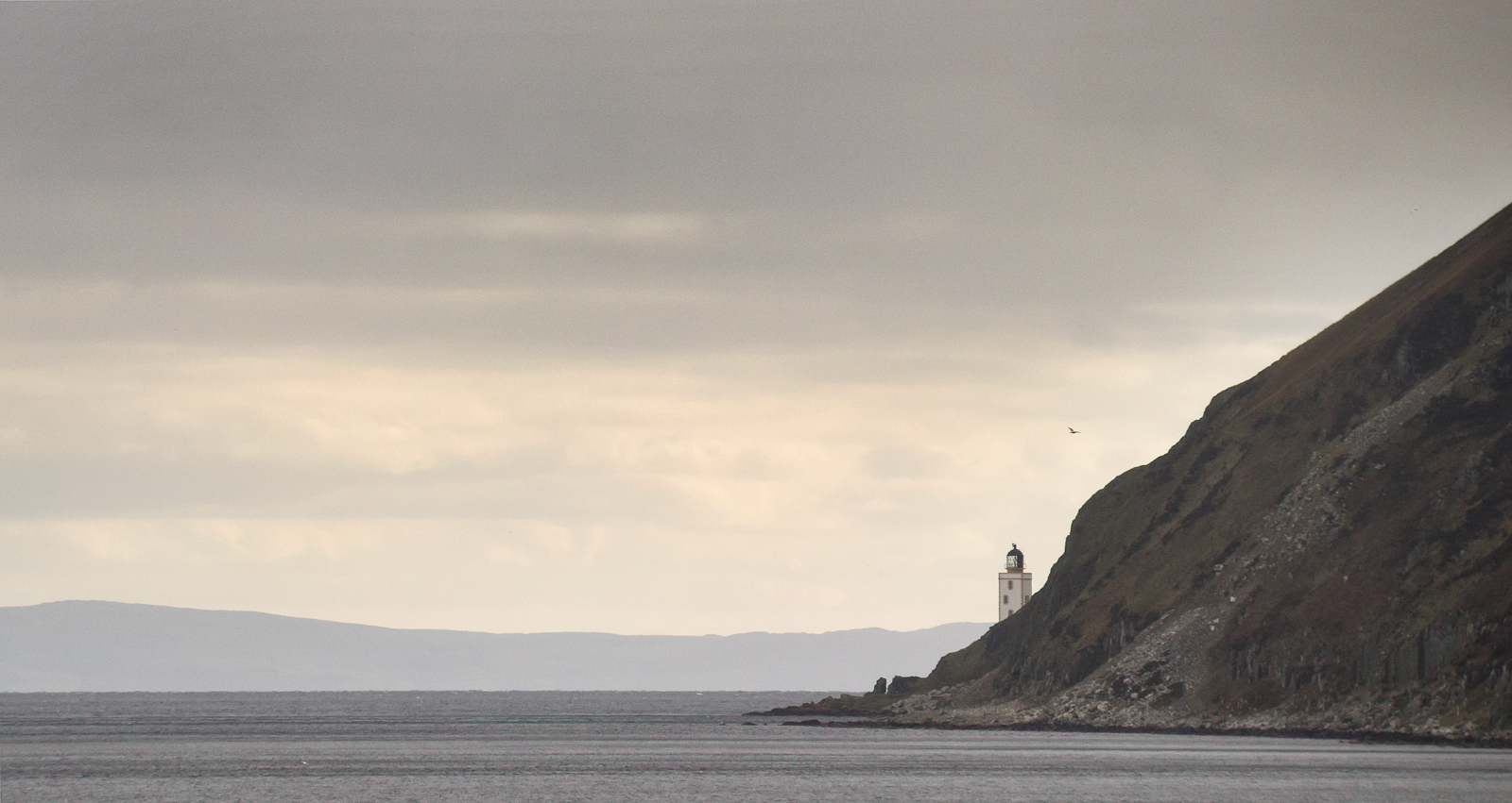 Holy Island lighthouse