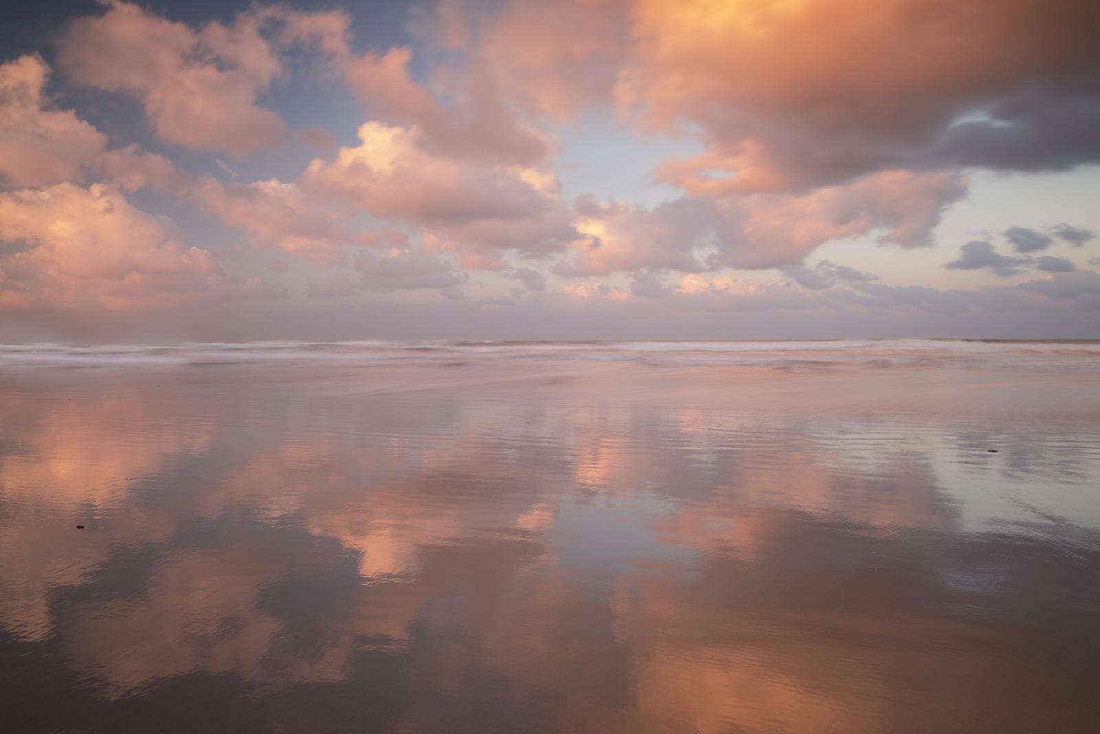 Sunset at Bamburgh Beach