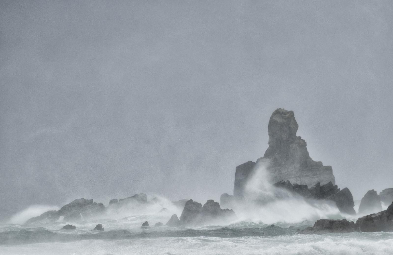 Stormy Dalmore Beach, Isle of Lewis