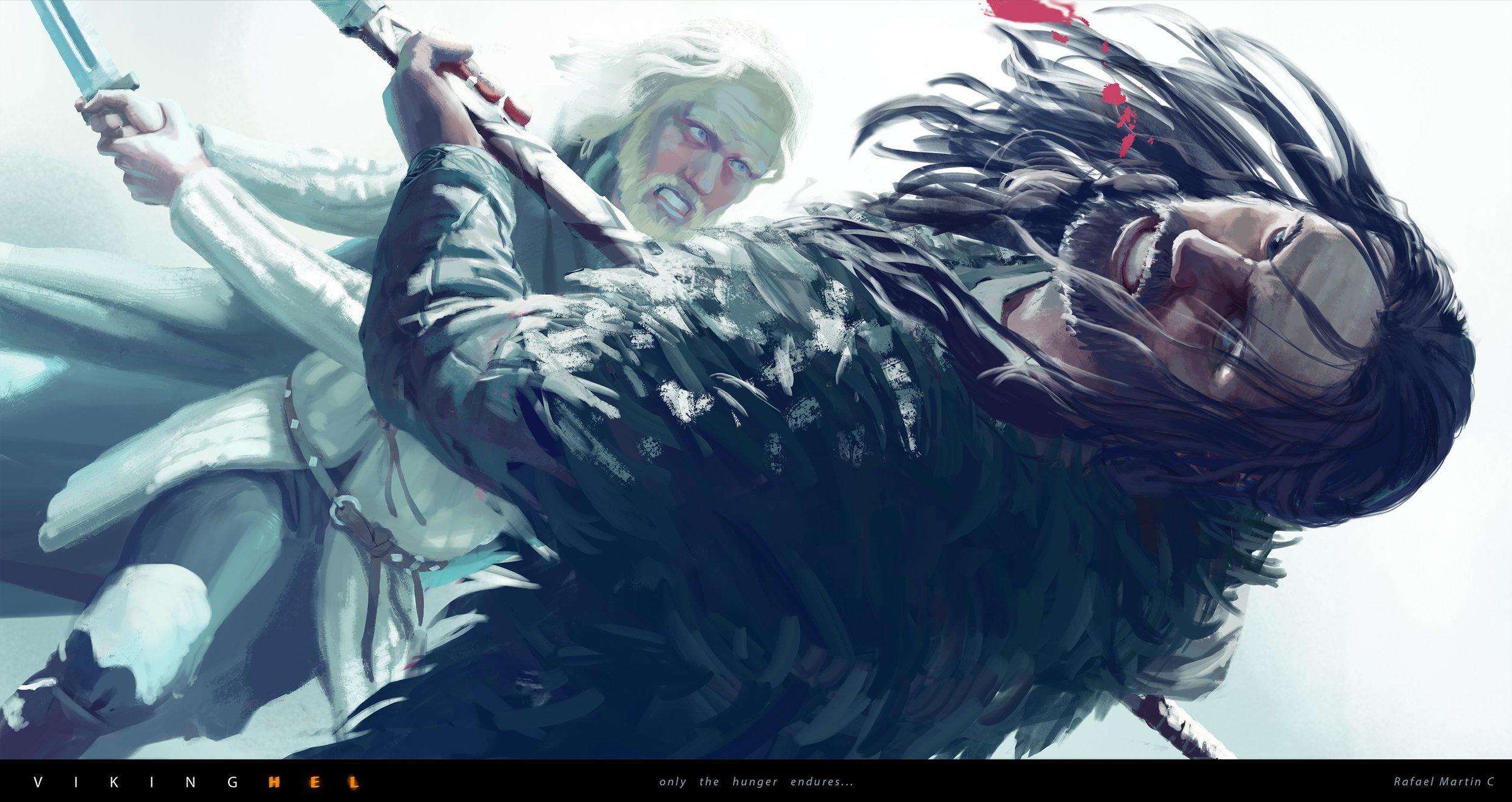 Rafael Martin C - VIKINGHEL - 14 Of sword and axe.jpg