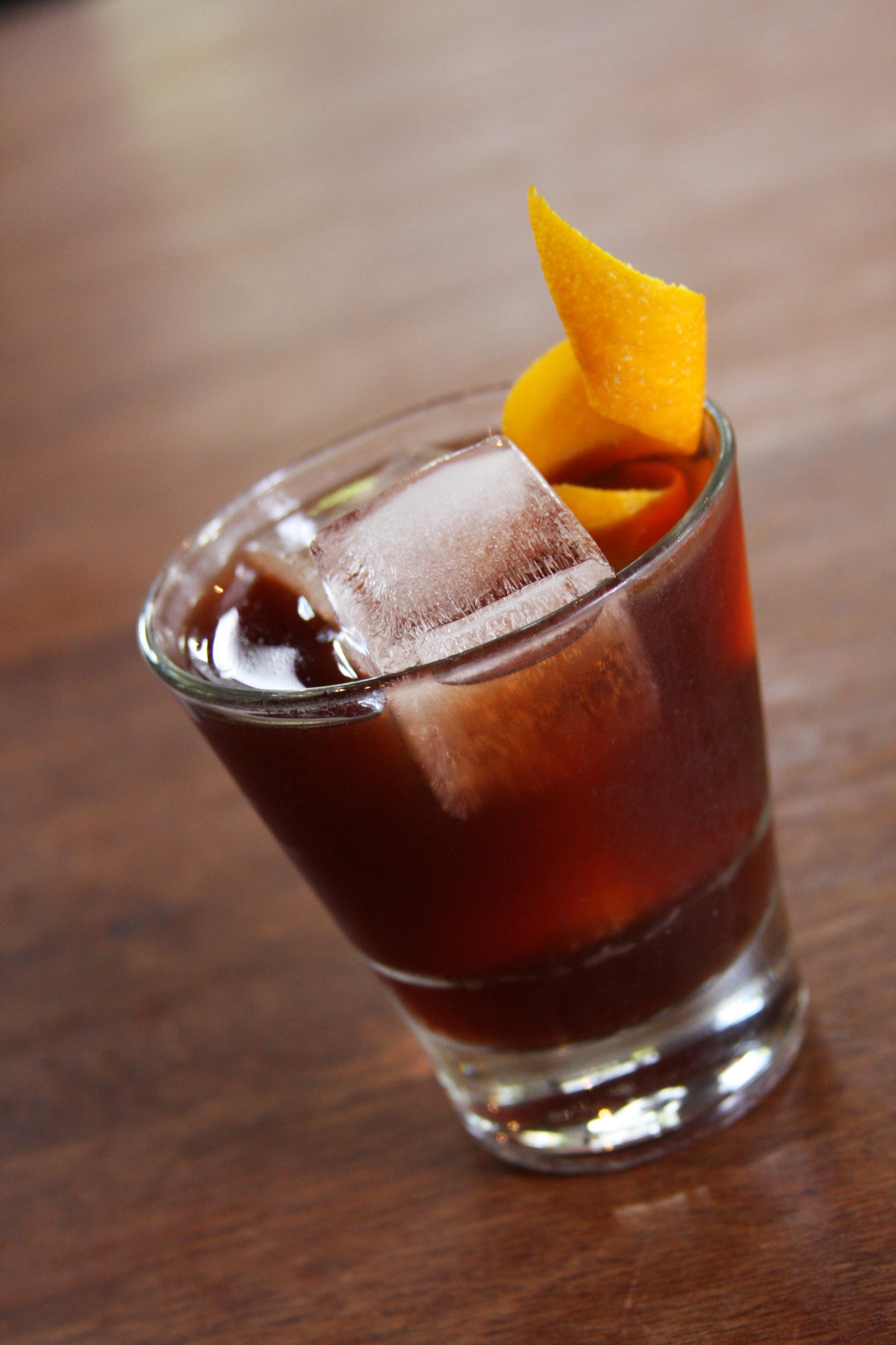 Countess Cristoforetti - Aria Portland dry ginGreen coffee CampariBraulioCocchi Vermouth di TorinoJacobsen Sea Salt salineNathan Gerdes, La MouleMarch 2018