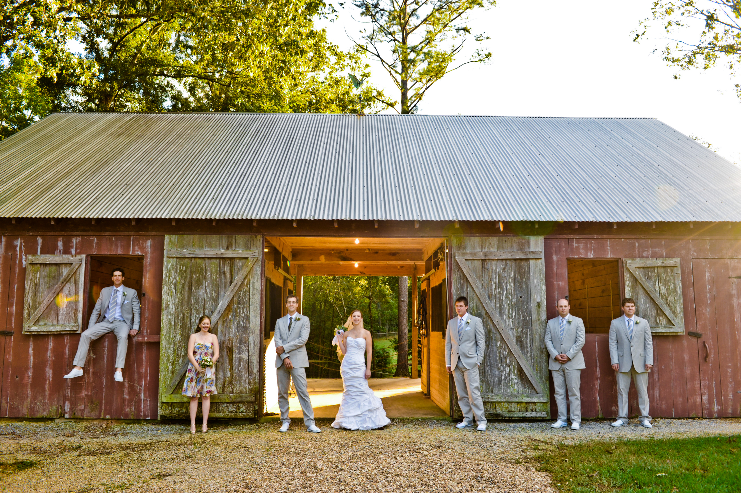 Wedding Party @ Barn