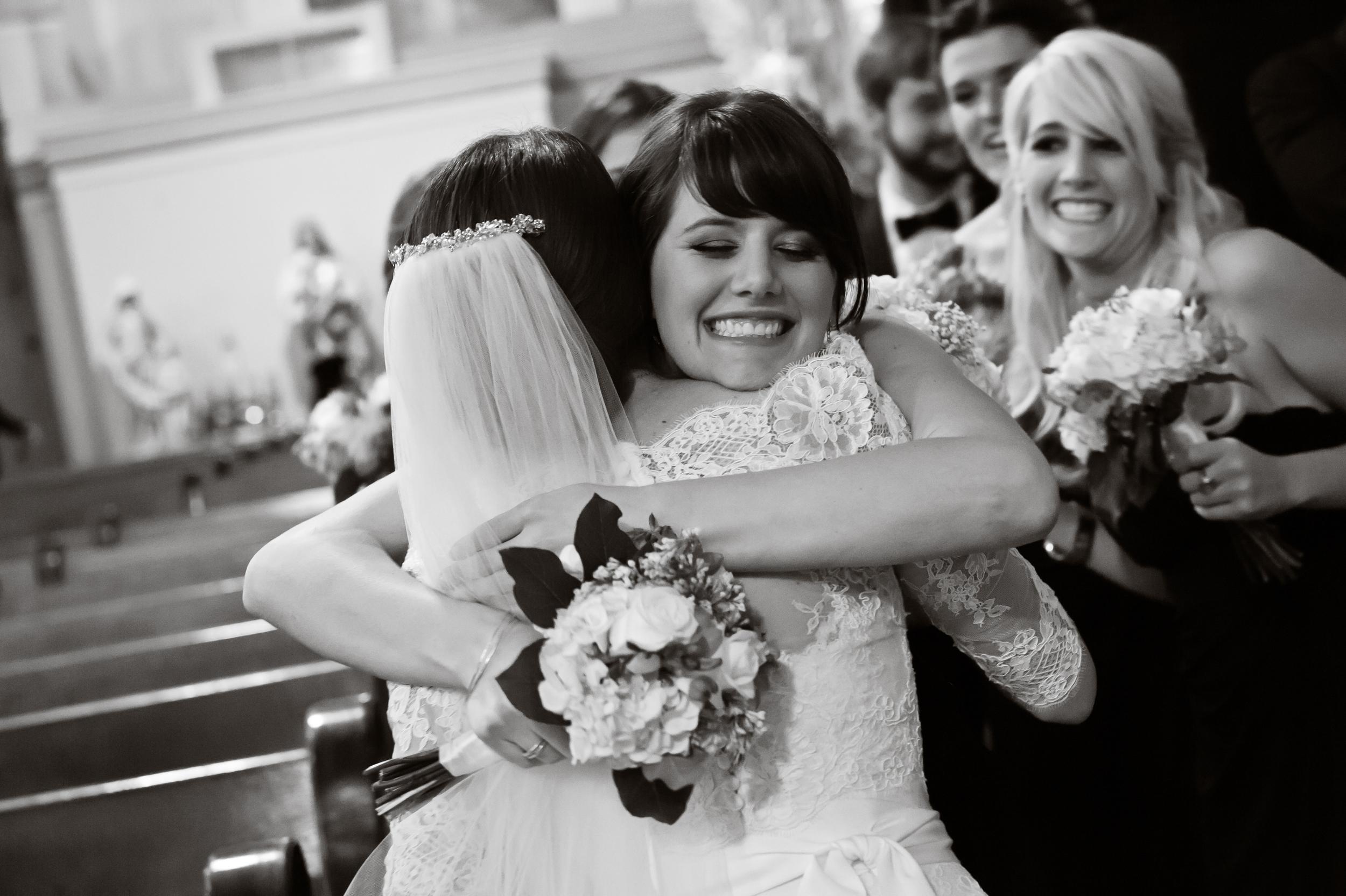 Congratulations, Here's a Hug
