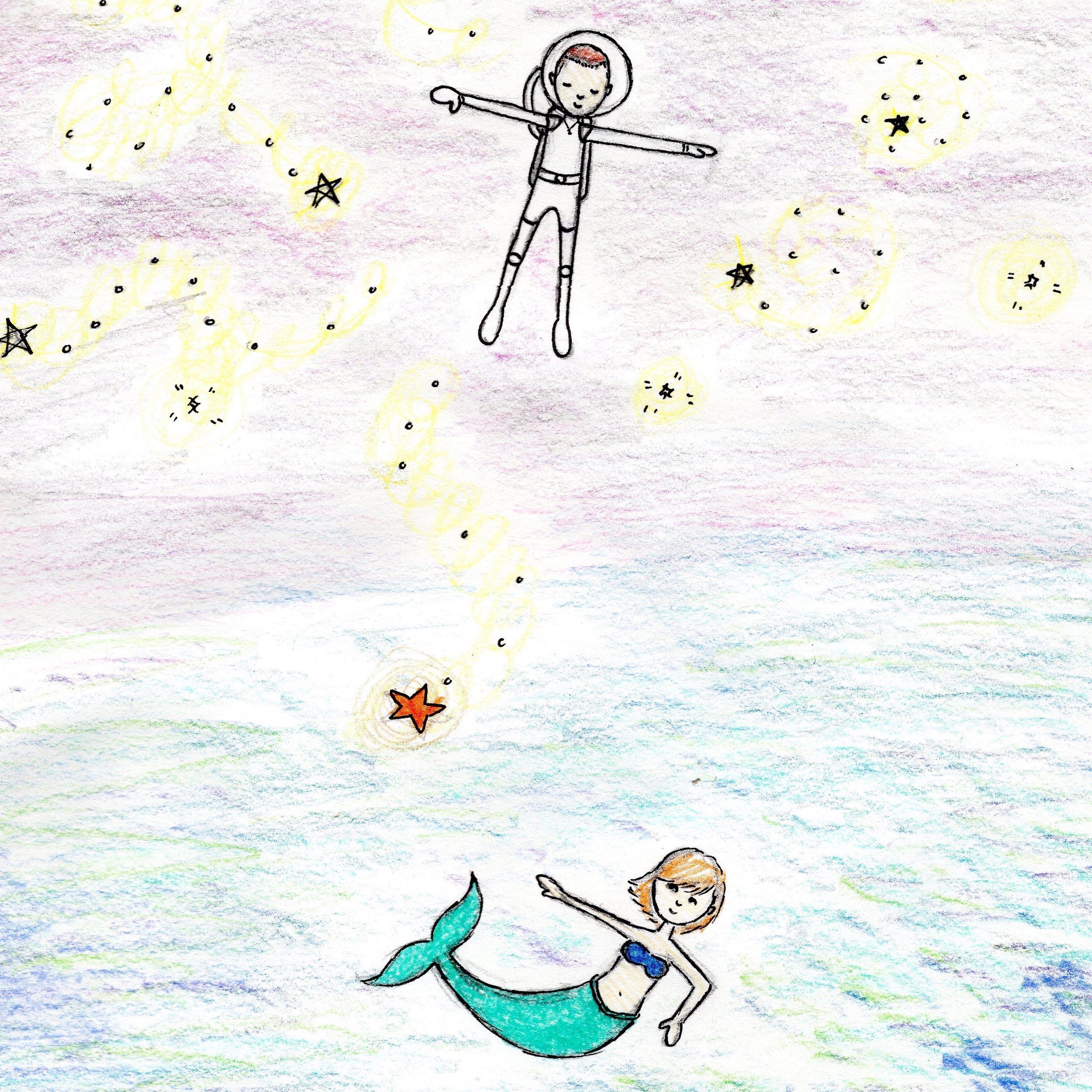 space boy & Sea Girl -