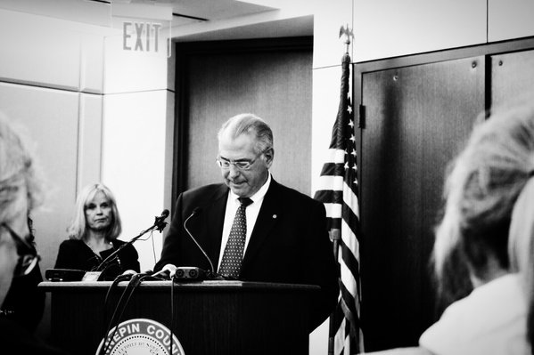 Hennepin County Attorney Mike Freeman.  Photo courtesy of Patience Zalanga.