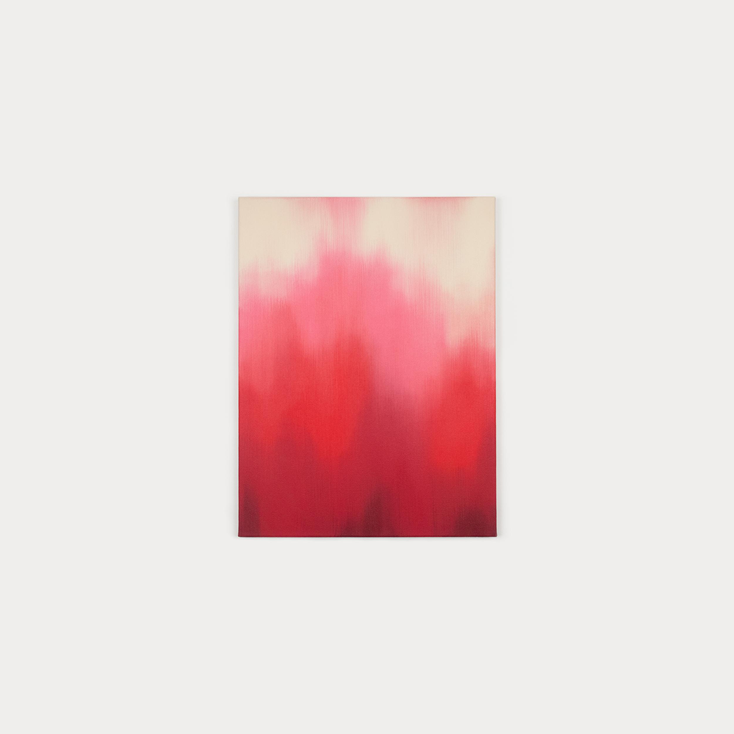 """Pensamento rosa"" oil painting by Thiciana Cruz"