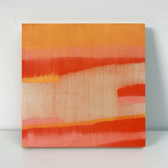 "Oil on wood panel | 10"" x 10""  #art #abstractart #abstractartist #abstractpainting #arte #abstrato #artgallery #fineart #fineartist #painting #oilpainting #oilpaintings #colorlust #oilcolor #thicianacruz #thicianacruzpainting"