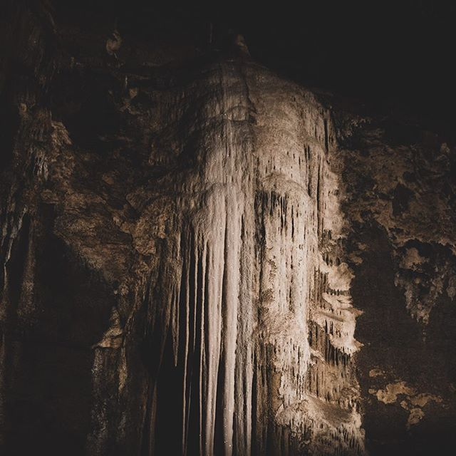Sparkling calcite cave formations. . . . #blanchardspringscaverns #calcite #caveformations #livingcave #explore #wildplaces #beauty #underground #majestic #caverns #arkansas #nature
