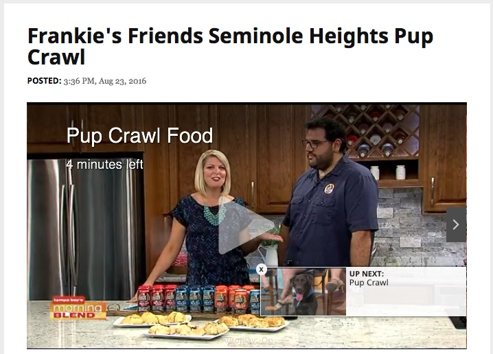 Frankie's Friends on Tampa's ABC Action News