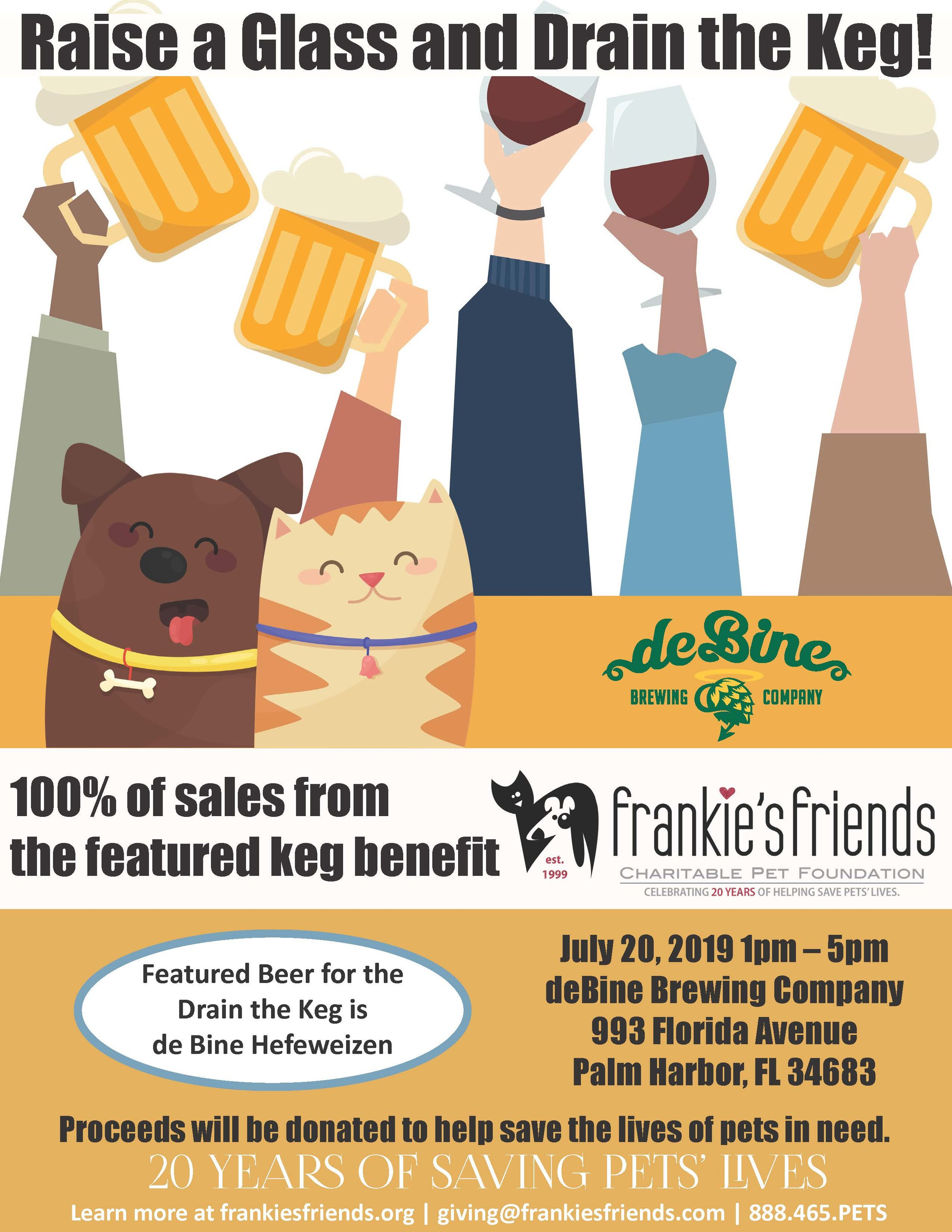 drain the keg flyer deBine Brewing co.jpg
