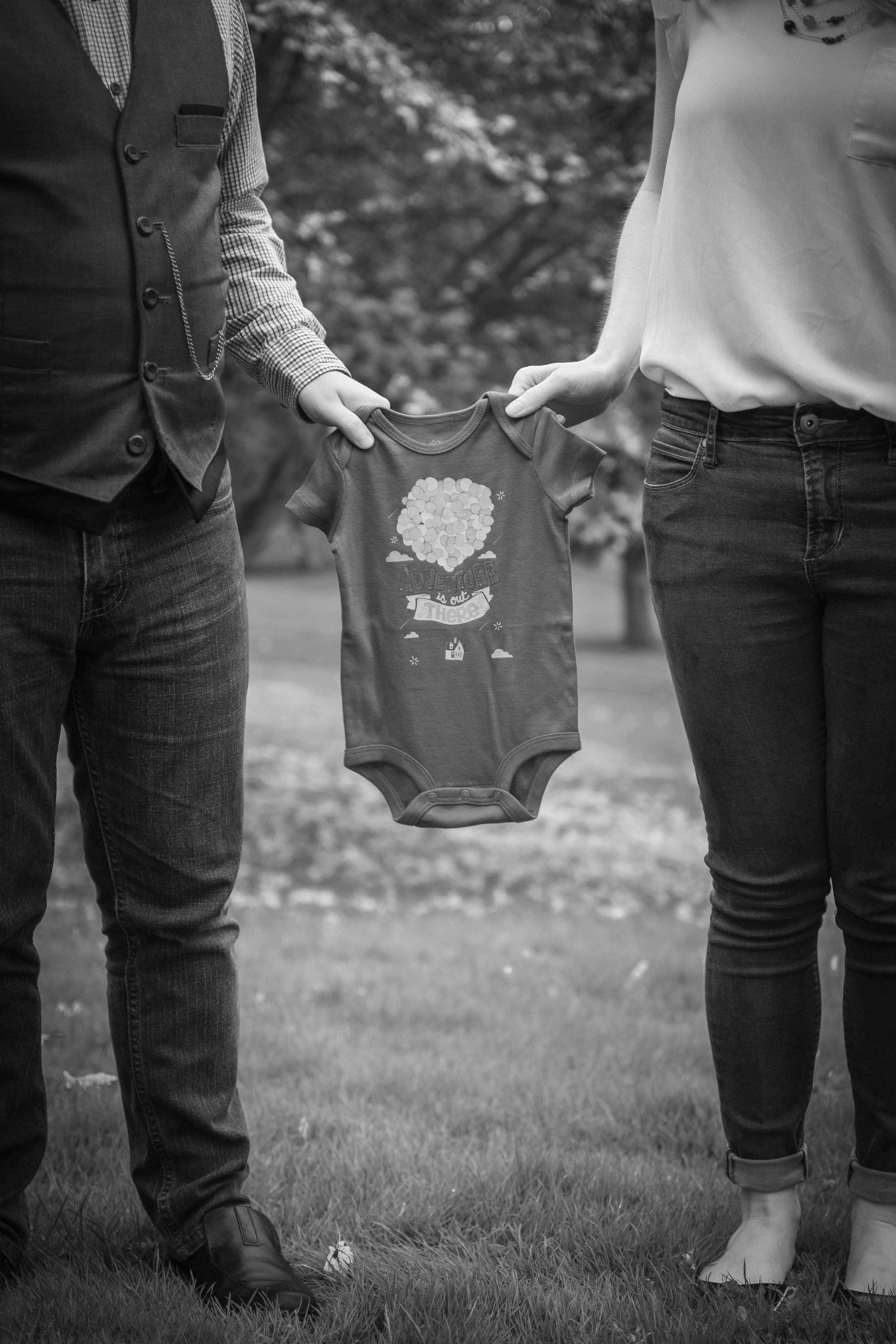 Pregnancy Announcement - Wright Park - Tacoma