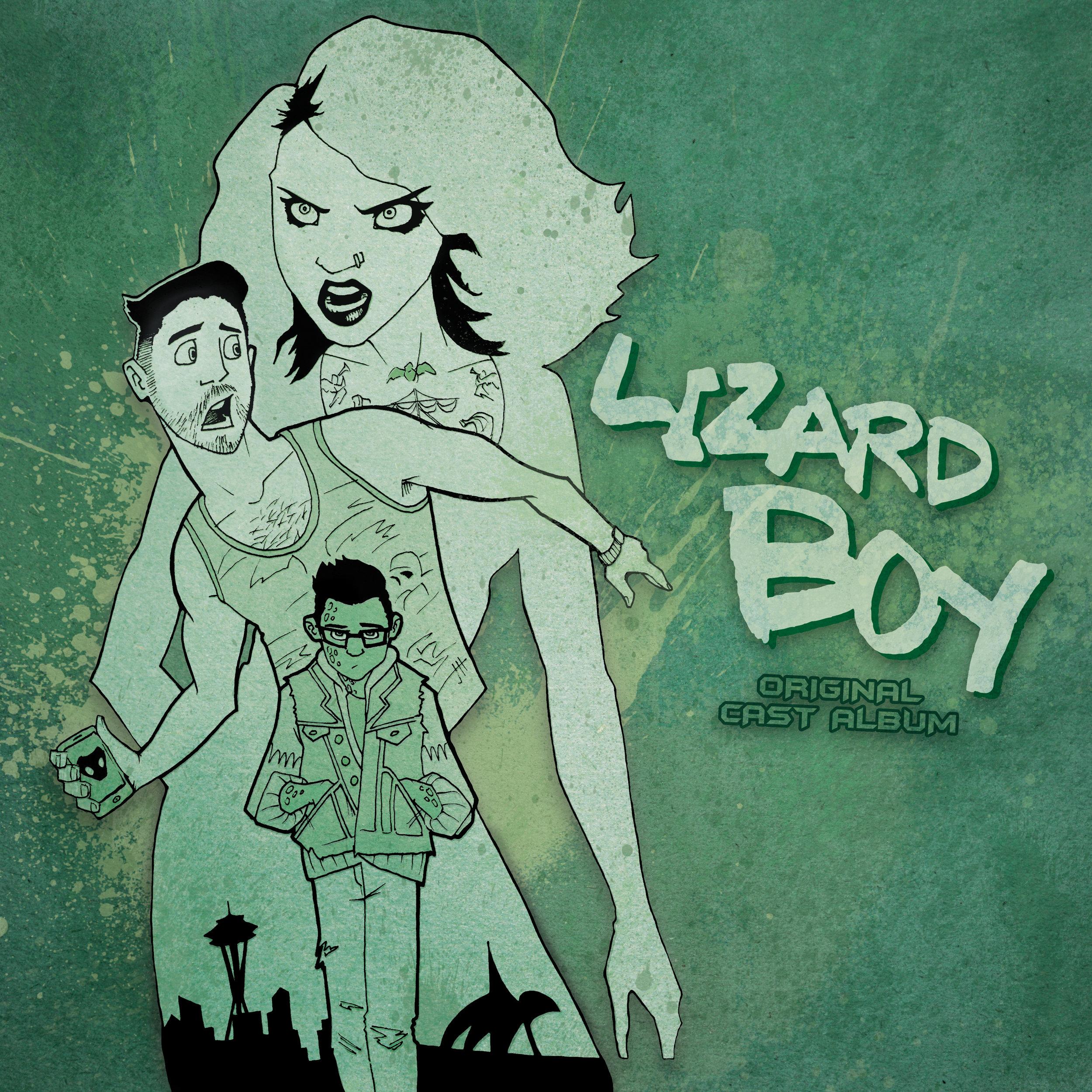 Lizard Boy - Album Cover