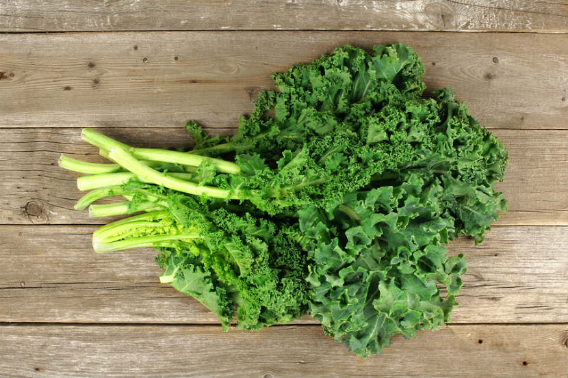 Kale - Protein Payout: 4 g per cupDespite its mildly bitter taste (which can be counteracted with a banana), kalemakes an exceptional addition to any blended beverage. From vitamins A, K, B6, and C to minerals like calcium, manganese, copper, magnesium, and potassium, it's basically your edible multivitamin.