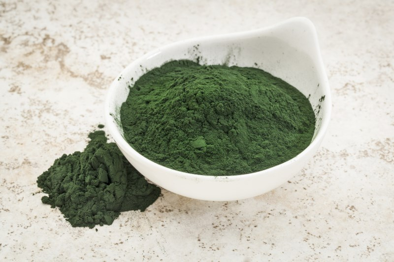 Spirulina - Protein Payout: 8 g per tablespoonSpirulina is a blue-green algae that's typically dried and sold in powdered form. Why we love it? Not only is composed of 60 percent protein, but it's a complete protein (meaning it contains all nine amino acids). What's more? It's packed with vitamin B12, a crucial nutrient for proper nerve function and just 43 calories per serving, making it a no brainer way to boost the protein in your smoothie.
