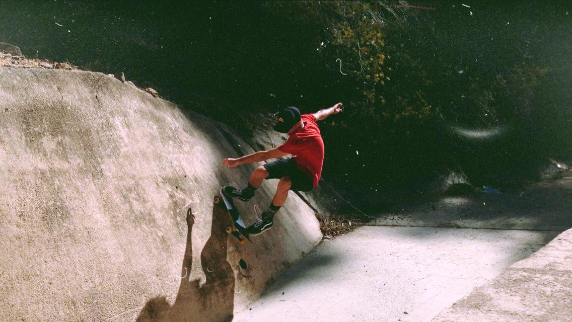 Wall Ride.Catalina Island, Ca