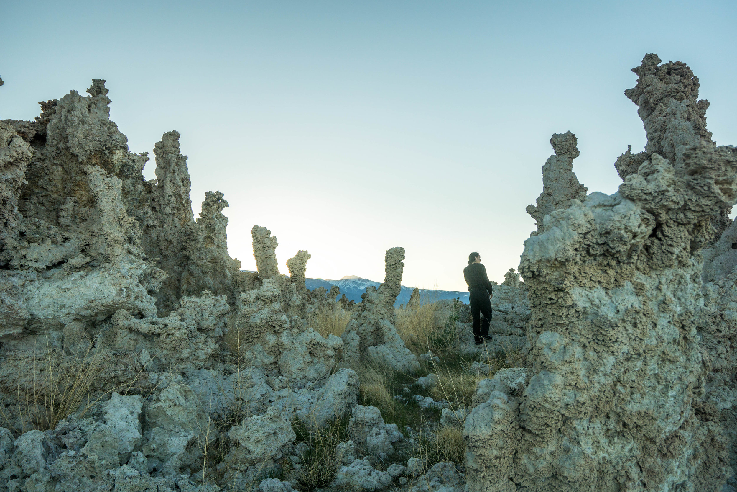 Once again striking out with the fish, we race against time to make it to Mono Lake before sunset.