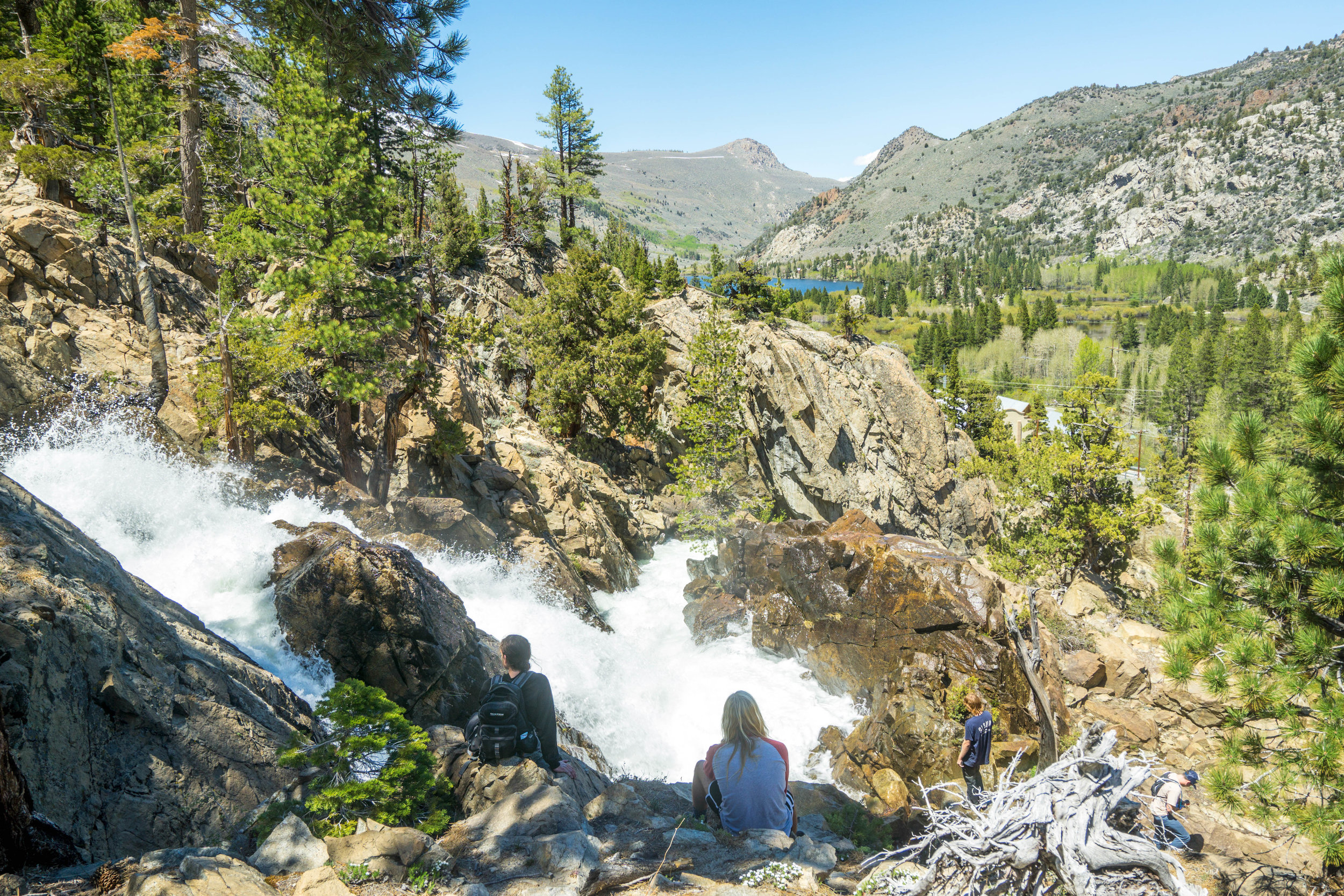 Since the entire hike was essentially adjacent to the river we consistently found ourselves taking breaks to admire the powerful cascades.