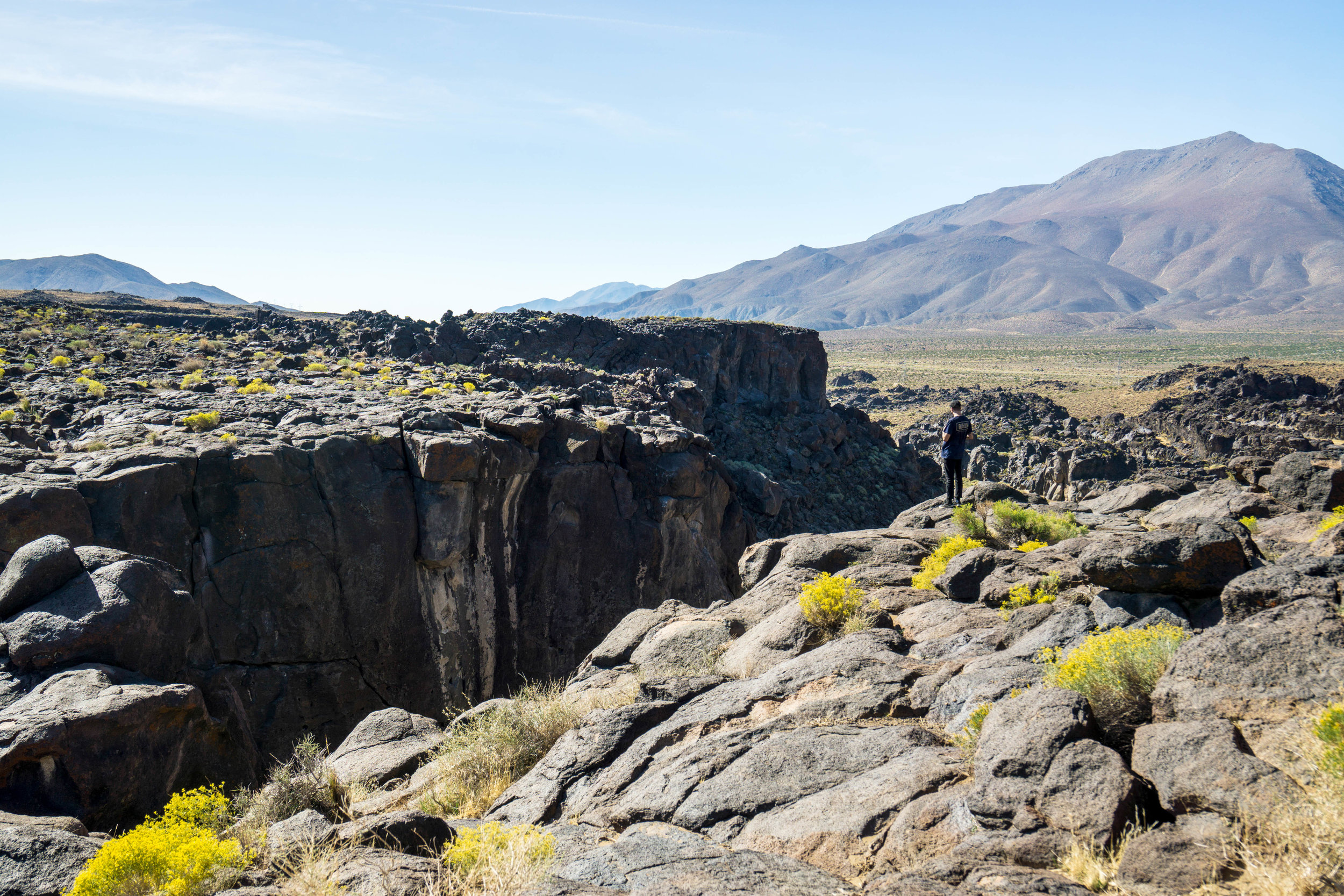 Nearby a water-carved lava canyon presents yet another reminder of the Sierra's volcanic past.