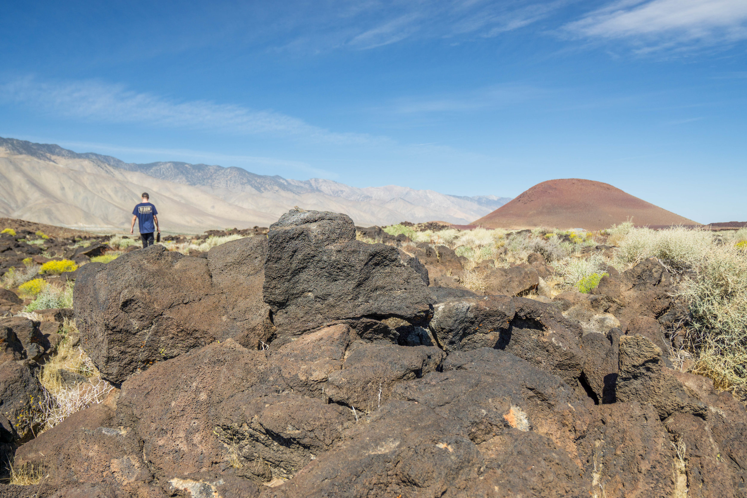 With the scarlet cinder cone looming in the distance, we wander through a field of scattered lava rock back to the car as yet another Misadventure comes to a close.