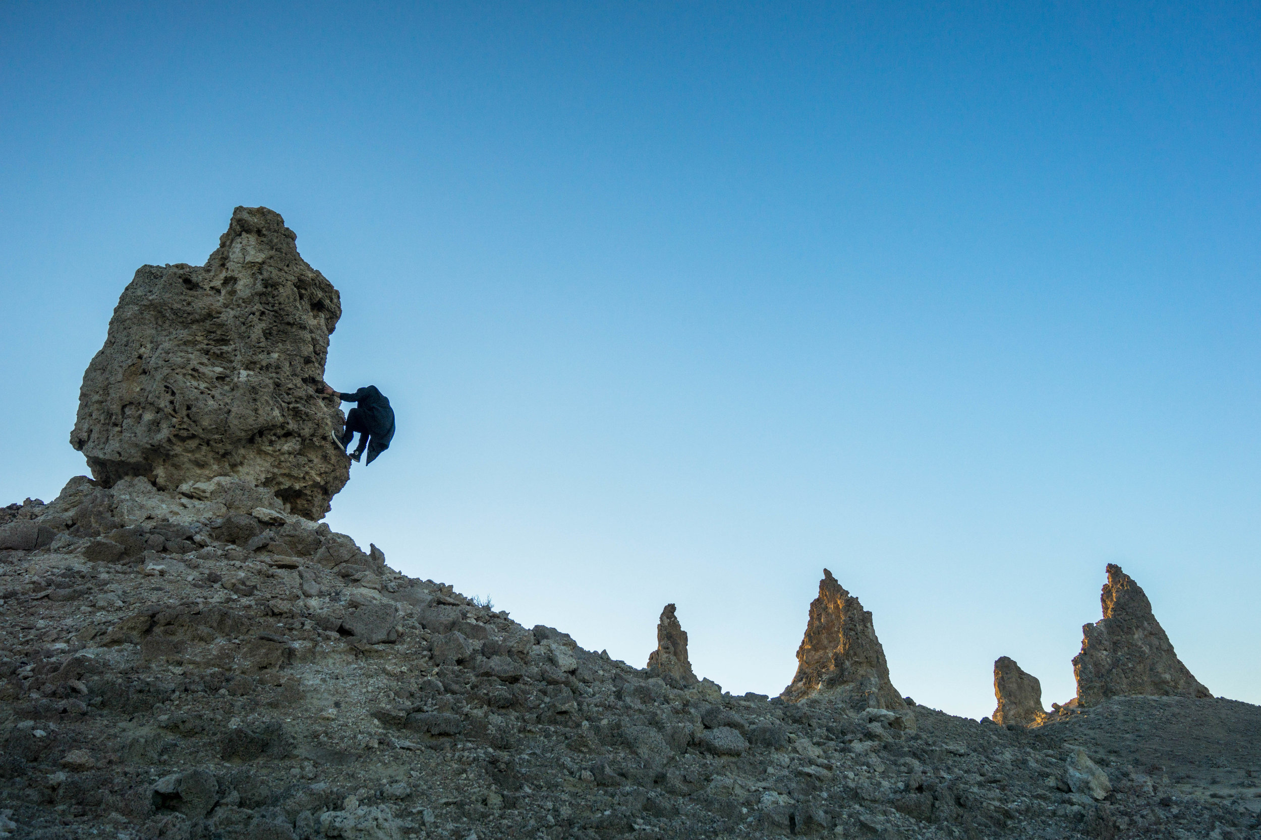 Each separate pinnacle offered up a new perspective of the otherworldly topography.