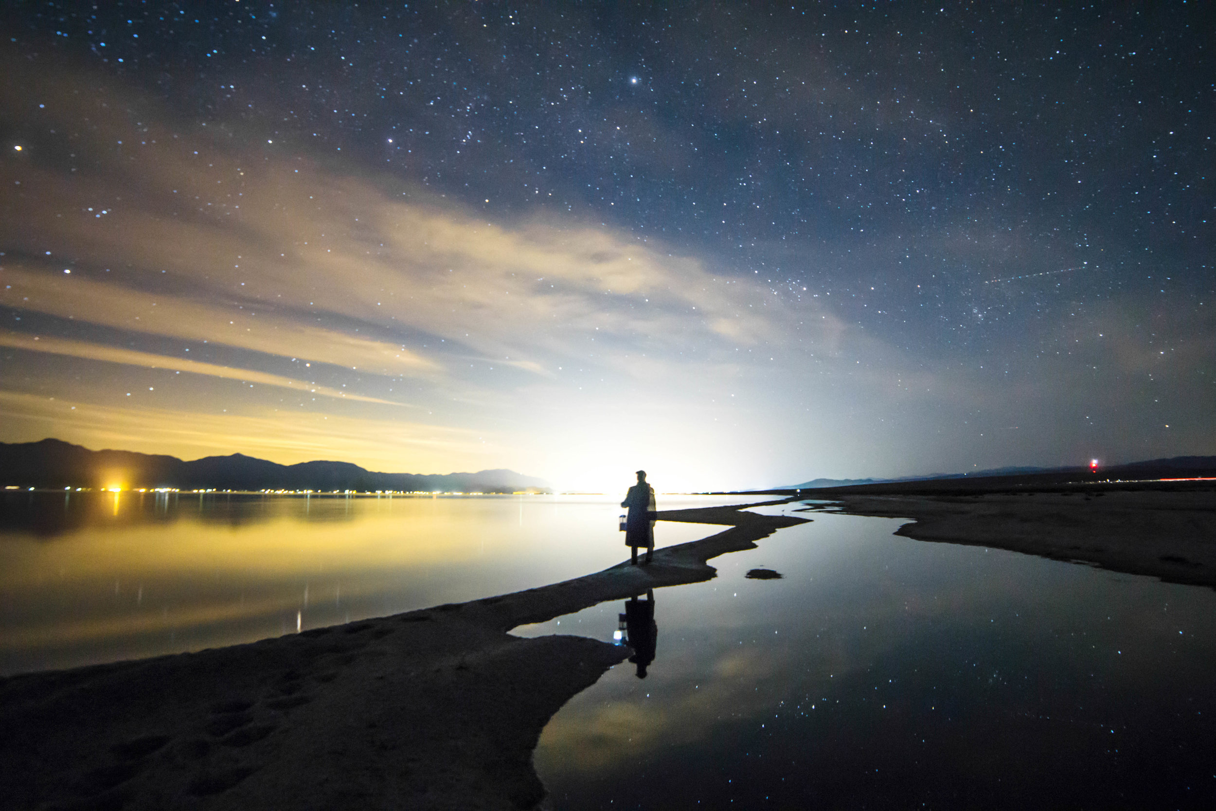 Stars might as well be considered a poor man's diamonds. With so many light polluted cities, sighting them in their true magnitude has become rare, but its still free.