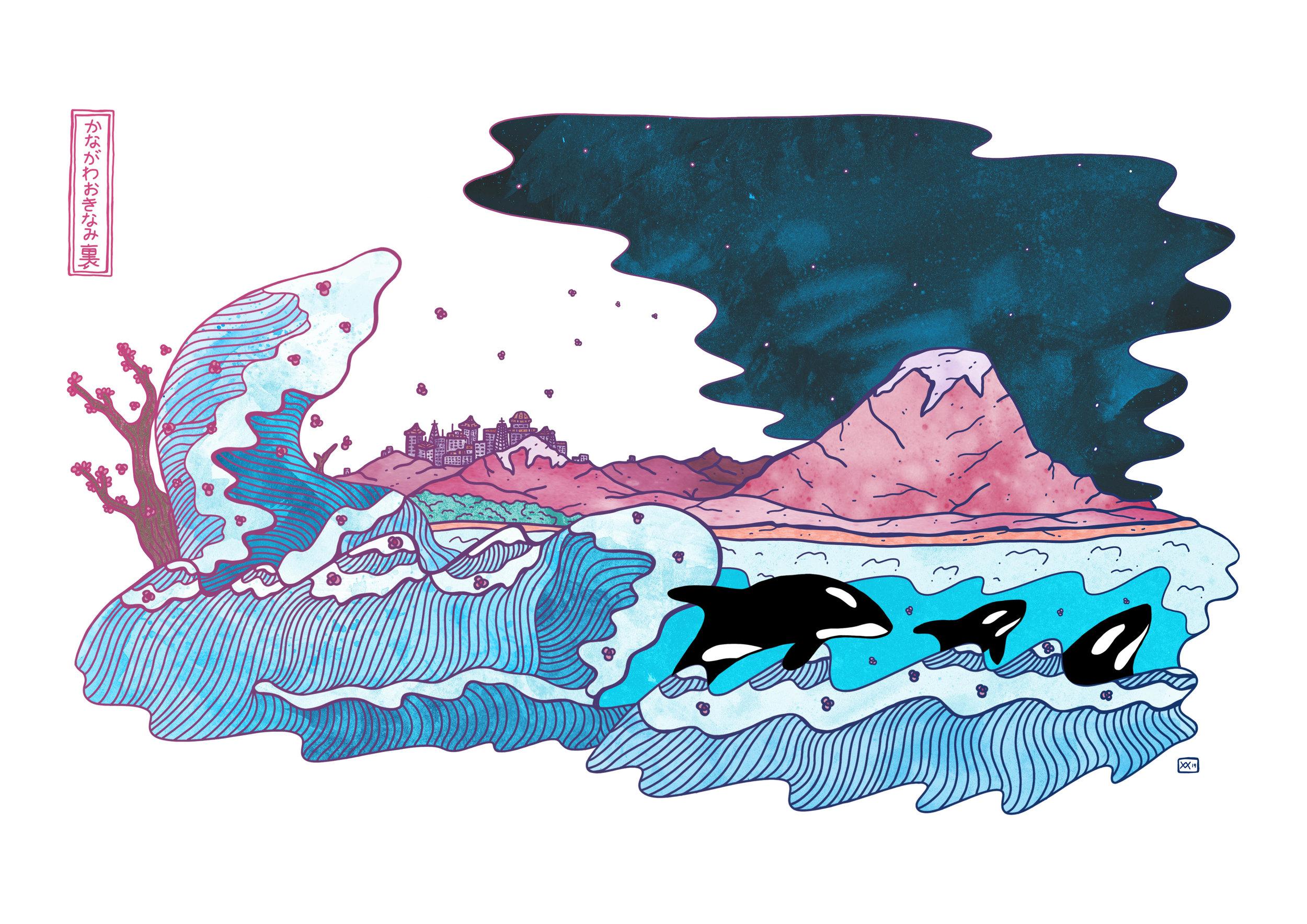 Guardians After Hokusai, 2019.jpg