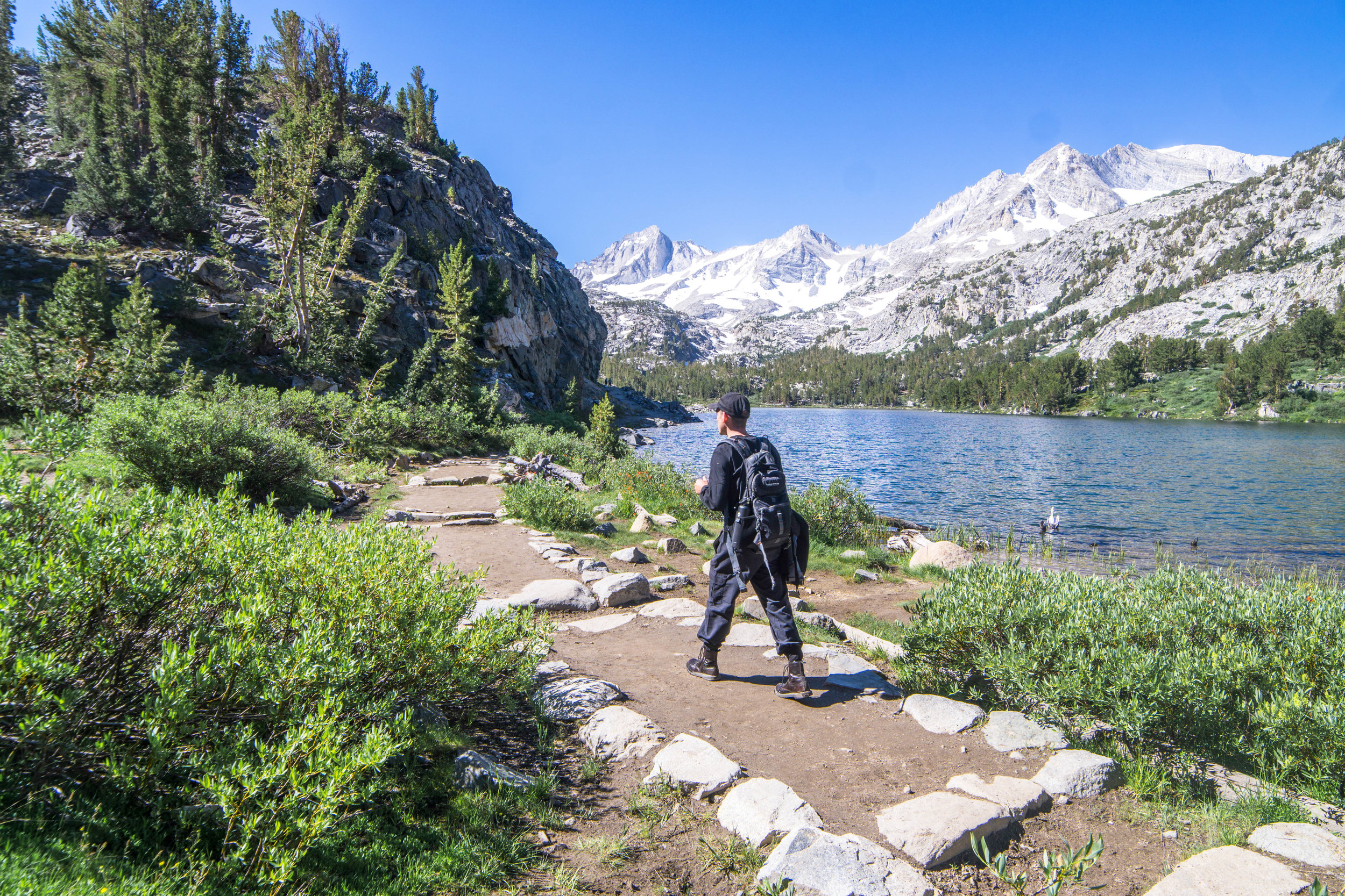 As we continued on, the opportunities for backpacking became abundantly clear.